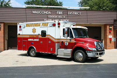 WAUCONDA FPD AMBULANCE 3442