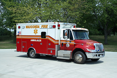 WAUCONDA FPD AMBULANCE 3441
