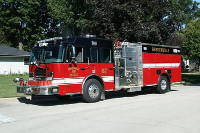 BENSENVILLE 2011 SPARTAN METRO STAR - TOYNE  1500-790  BF