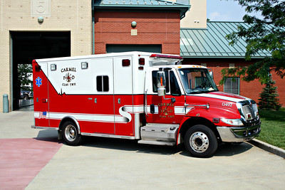 CARMEL FD  AMBULANCE 45