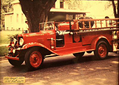 BLOOMINGTON VFD  ANTIQUE