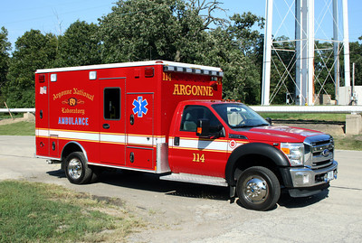 ARGONNE AMBULANCE 114