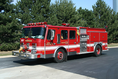 ADDISON FPD  ENGINE 121