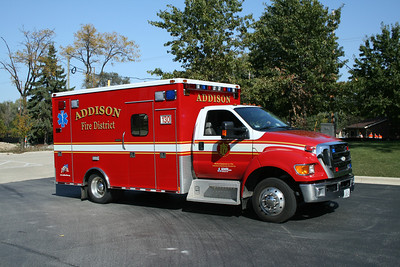 ADDISON FPD  AMBULANCE 130