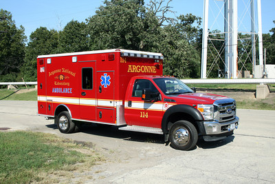 ARGONNE LABS   AMBULANCE 114
