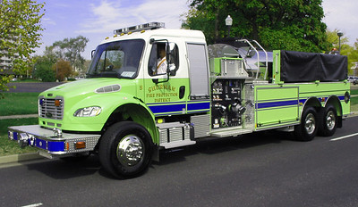 Sherman FPD Tanker 5  2012 Freightliner M2-106 - Pierce  1000-3000  Ron Heal photo