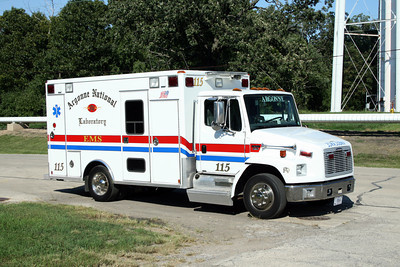 ARGONNE LABS   AMBULANCE 115