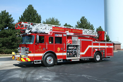 ADDISON FPD  QUINT 111  2012 PIERCE ARROW XT  1500-500-75' ALUMINUM LADDER  BF