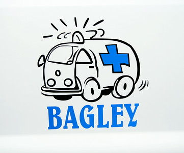 BAGLEY DOOR LOGO  FIRST RESPONDER