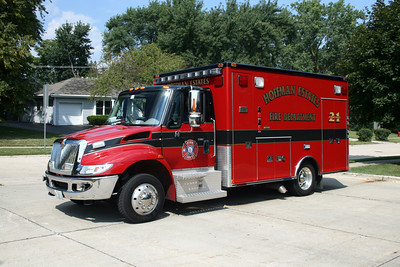 HOFFMAN ESTATES  AMBULANCE 21