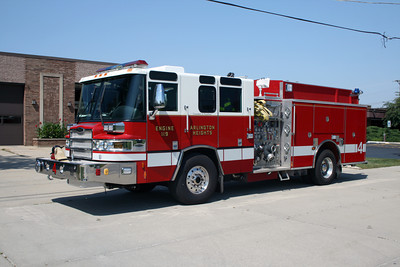 ARLINGTON HEIGHTS  ENGINE 4   PIERCE QUANTUM