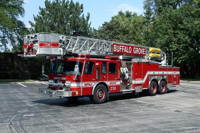 BUFFALO GROVE TOWER 25R   E-ONE 95'
