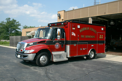 HOFFMAN ESTATES AMBULANCE 22