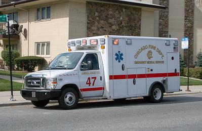 CFD AMBULANCE 47