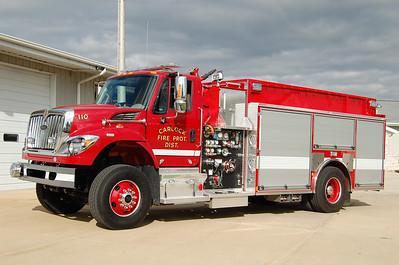 CARLOCK FPD  ENGINE 110  2014 IHC - PIERCE 1250-1600  27667  X-STOCK RIG   BILL FRICKER PHOTO