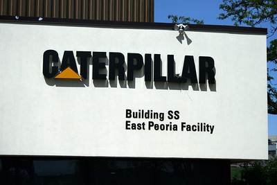 CATERPILLAR - EAST PEORIA BUILDING SIGN