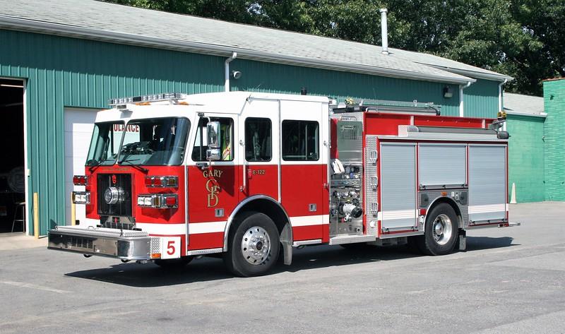 GARY  ENGINE 5  2012 SUTPHEN SHIELD  1500-1000   HS-5151