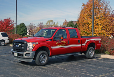 SOUTH ELGIN  UTILITY 22  FORD F-450