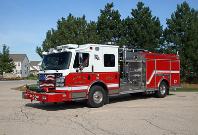 SOUTH ELGINE  ENGINE 22   ROSENBAUER COMMANDER