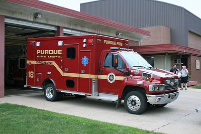 PURDUE  AMBULANCE 18