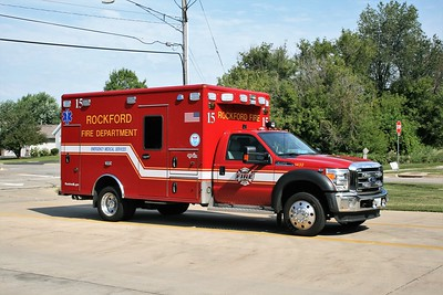 ROCKFORD  AMBULANCE C-15