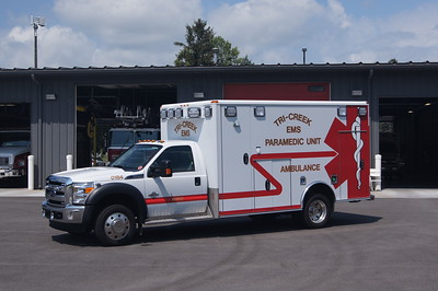 TRI CREEK  AMBULANCE AMBULANCE 6672