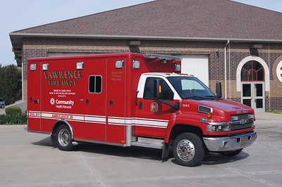 LAWRENCE AMBULANCE 38