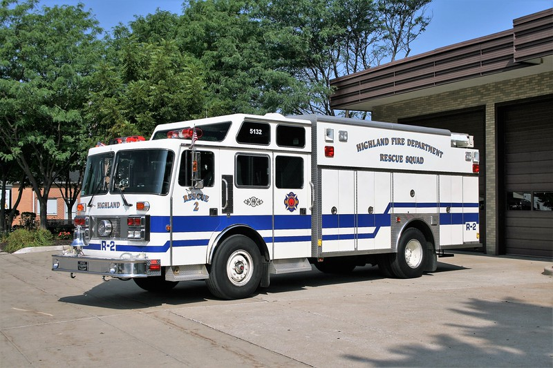HIGHLAND  SQUAD 5132  1991 PEMFAB IMPERIAL T-944 - SAULSBURY  290014