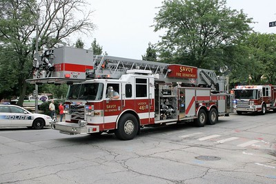 SAVOY  LADDER 461  PIERCE 100' PAP