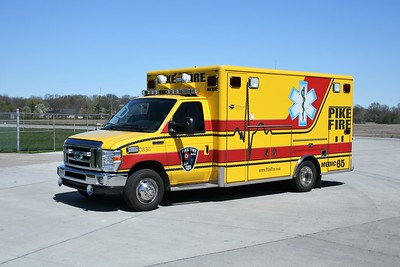 PIKE TOWNSHIP  MEDIC 65  FORD E550-MEDTEC