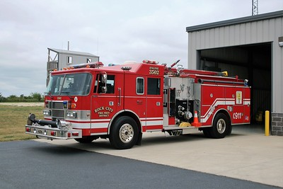 ROCK CITY  ENGINE 3502  1993 PIERCE  LANCE  1250-750   X-ITASCA FPD