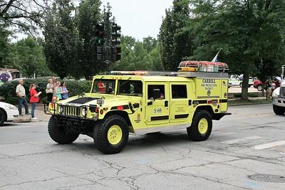CARROLL  SQUAD 69  1997 AMC HUMVEE - FIRE ATTACKER  100-250