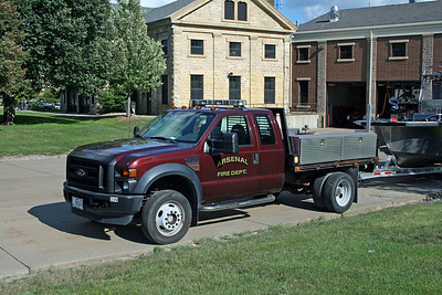 ARSENAL  HAZMAT 41  2013 FORD F550 - DEE ZEE