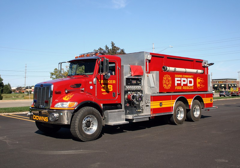 DOWNS  TANKER 38  PETERBILT -