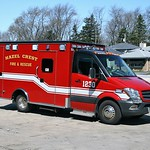 HAZEL CREST  AMBULANCE 1230  2014 MERCEDES-BENZ SPRINTER - MEDIX