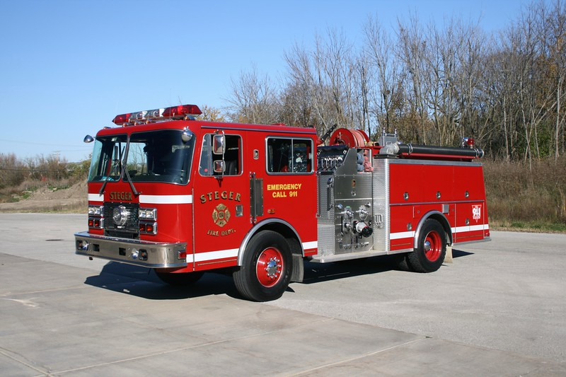 STEGER  ENGINE 104  1991 KME RENEGADE  1250-750   GSO-1351