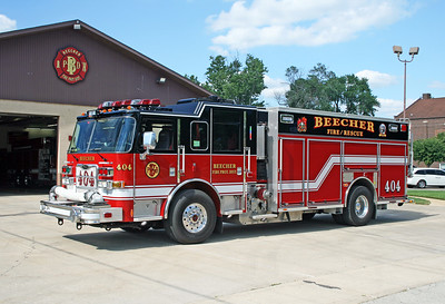 BEECHER  ENGINE 404  PIERCE