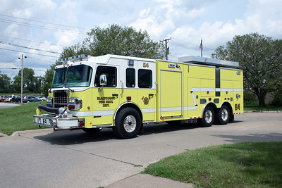BLACKHAWK  ENGINE 4  206 SPARTAN METRO STAR - ALEXIS  #2261