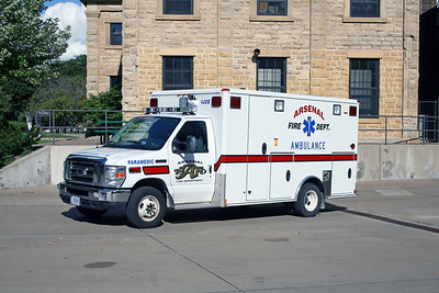 ARSENAL  AMBULANCE 42  2009 FORD E450 - WHEELED COACH