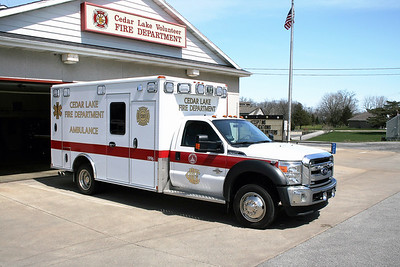 CEDAR LAKE  AMBULANCE 1996   FORD F -