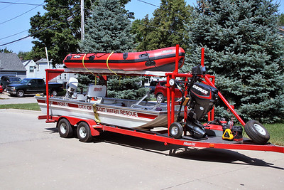 BELOIT  RESCUE 15   BOAT TRAILER