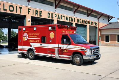 BELOIT  AMBULANCE 12   FORD E450 - MEDTEC
