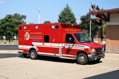 BELOIT RESCUE   FORD E450 - MEDTEC  SURFACE WATER