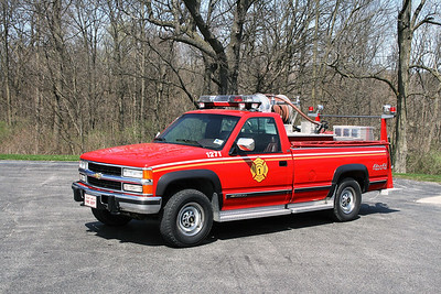 CEDAR LAKE  BRUSH 1  CHEVY 3500 - FD BUILT