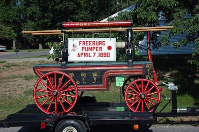 FREEBURG  1890 HAND PUMPER