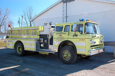 EDGEWOOD TRII-COUNTY FPD  ENGINE 455    1978 FORD C - PIERCE  1000-1250 OFFICERS SIDE      DAAVID HORNA
