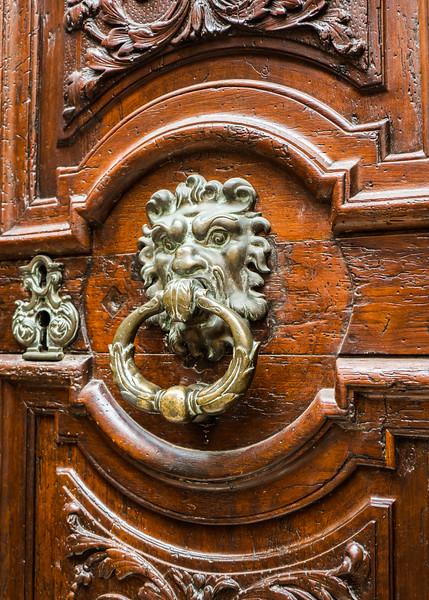 Forbidding Door - Aix en Provence, France