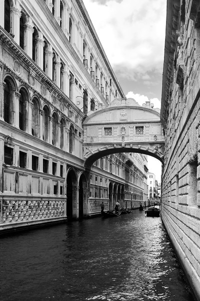 'Architectural Canal' - Venice, Italy