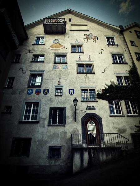 Storied Building - Chur, Switzerland