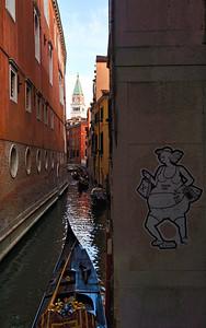 'Canal Art' - Venice, Italy